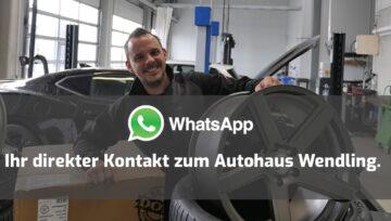 Direkte Kommunikation mit Whatsapp
